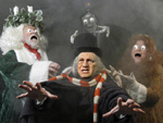 Dick Cheney as Scrooge